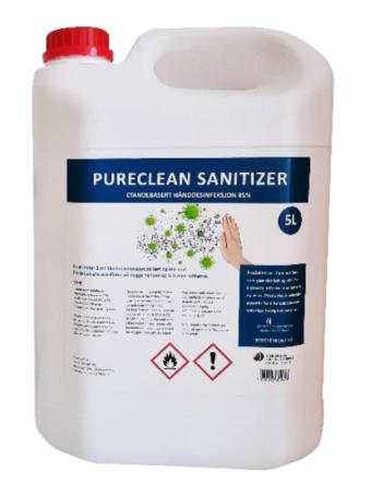 Pureclean sanitizer